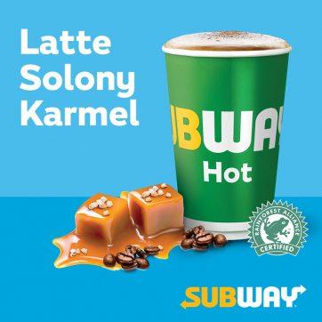 Latte Solony Karmel: rozgrzewająca nowość w zimowym menu restauracji Subway®