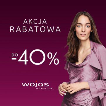 Teraz jeszcze więcej modeli w atrakcyjnych cenach w salonach firmowych Wojas i na wojas.pl