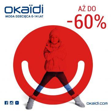 Wyprzedaż w Okaïdi! Teraz nawet do -60% !