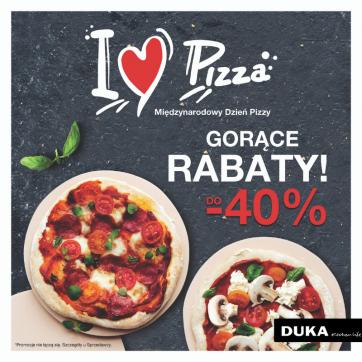 Międzynarodowy Dzień Pizzy w sklepie Duka