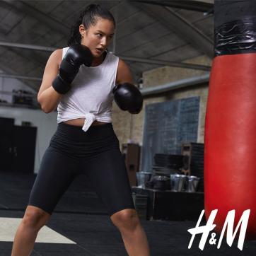Poznaj najnowszą sportową kolekcję H&M i ćwicz w swoim stylu!