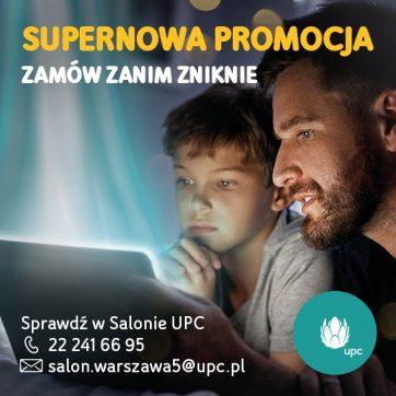 Supernowa promocja w UPC