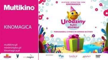 Styczniowe show z rybką minimini w Multikinach w całej Polsce