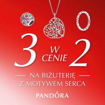 Oferta Walentynkowa w salonie Pandora