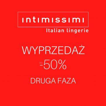 Wyprzedaż w Intimissimi do -50%! Druga faza!