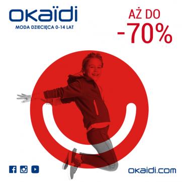 W Okaïdi wyprzedaż do -70%