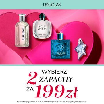 Perfumerie Douglas prezentują Bestsellery Zapachowe w specjalnych cenach.