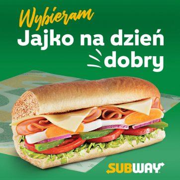 Nowy sub w menu restauracji Subway –  Jajko na dzień dobry!