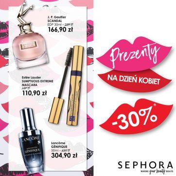Tylko w Sephora z okazji Dnia Kobiet – 30% na wyjątkowe prezenty!