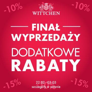 Finał wyprzedaży w Wittchen