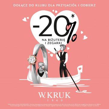 Walentynkowa promocja w W.Kruk