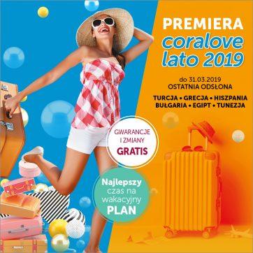 Premiera Coralove Lato 2019 w Coral Travel