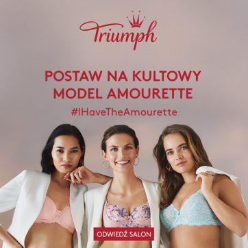 Odkryj najnowszą kolekcę Amourette marki Triumph