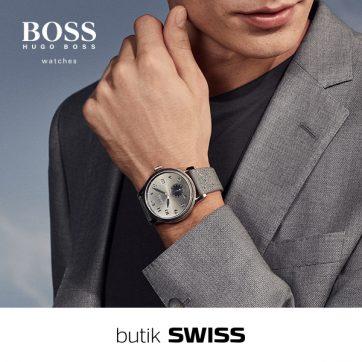 Nowa kolekcja zegarków BOSS w butiku SWISS