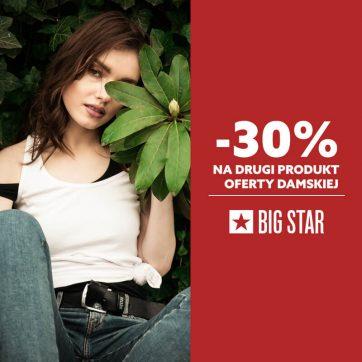 Promocja na dzień Kobiet w Big Star