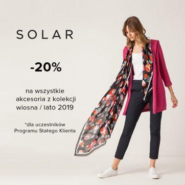 Promocja z okazji Dnia Kobiet w salonie Solar