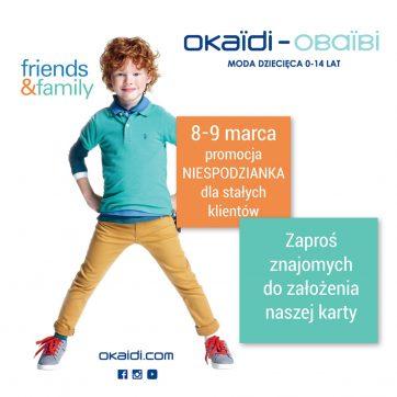 Specjalna oferta dla stałych klientów Okaïdi!