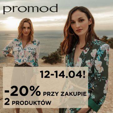 Weekendowa promocja w Promod