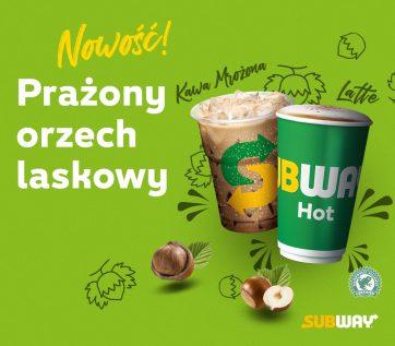 Wiosna w restauracjach Subway®: nowa kawa Prażony orzech laskowy!