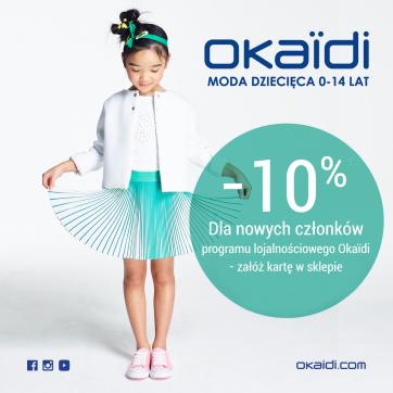 Dołącz do programu lojalnościowego Okaïdi i zyskaj!