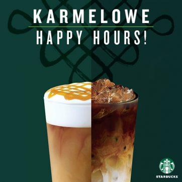 Rusza karmelowe Happy Hours w Starbucks