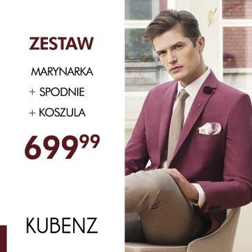 Zestaw Casual za 699,99 w salonie Kubenz