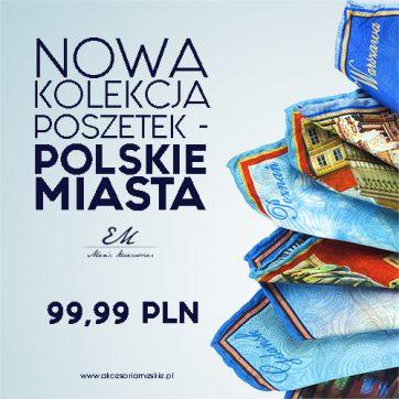 Kolekcja Polskich Miast! – 30 zł od ceny standardowej