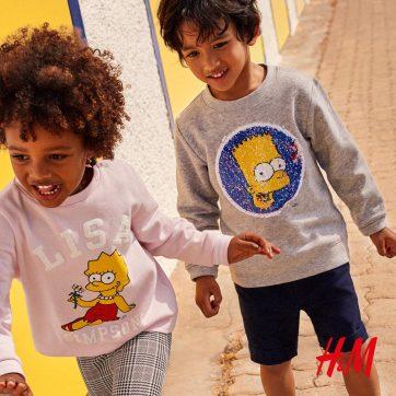 Simpsonowie w H&M