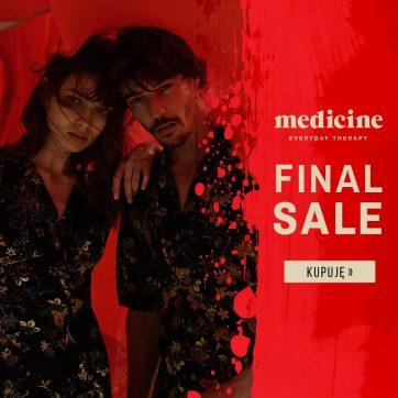 FINAL SALE w salonie Medicine