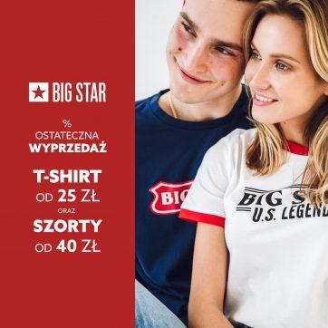 Wyprzedaż BIG STAR
