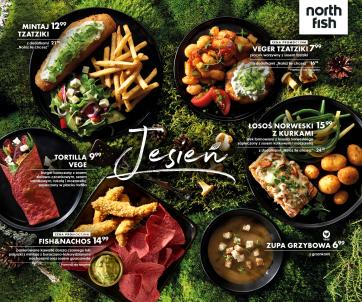 """Oferta """"Jesień"""" w restauracjach North Fish"""