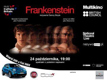 MULTIKINO TARGÓWEK ZAPRASZA NATIONAL THEATRE LIVE: FRANKENSTEIN – JONNY LEE MILLER JAKO MONSTRUM
