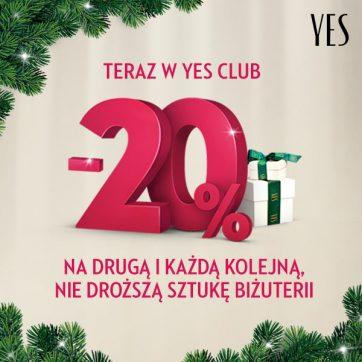 Promocja świąteczna w YES!