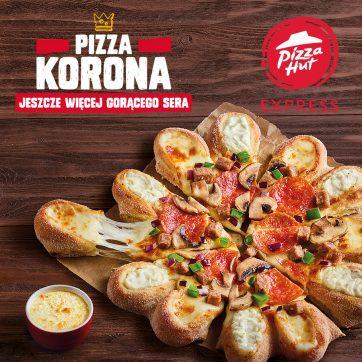 Pizza Korona w Pizza Hut Express