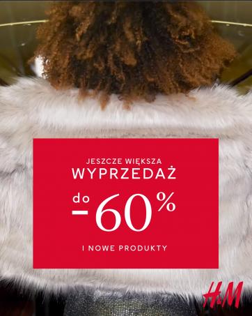 Ceny spadają na zimowej wyprzedaży H&M