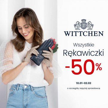 Wittchen – wszystkie rękawiczki -50%