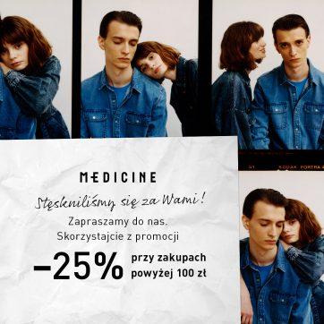 Promocja w sklepie Medicine