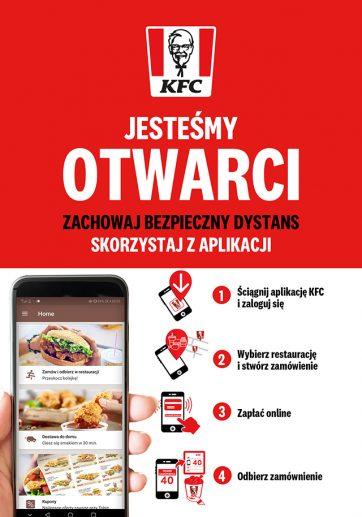 KFC jest otwarte!