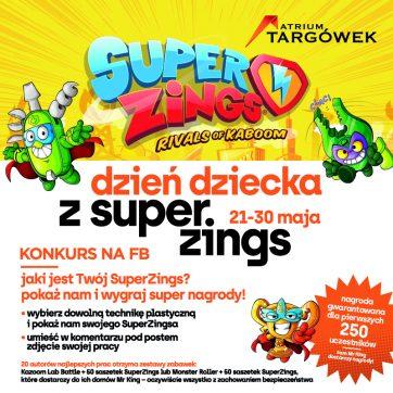 Dzień dziecka z SuperZings!!! Konkurs z 250 nagrodami gwarantowanymi trwa!