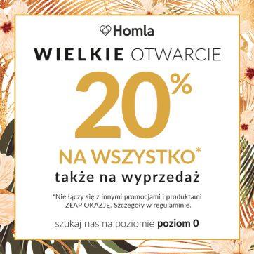 Wielkie otwarcie sklepu Homla