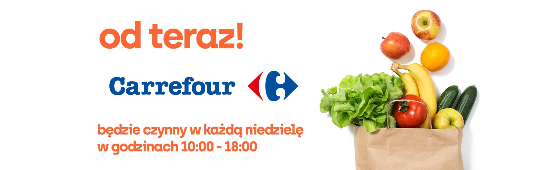 Carrefour czynny w każdą niedzielę!