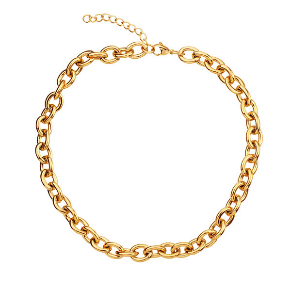 Naszyjnik złoty łańcuch ELIXA/APART